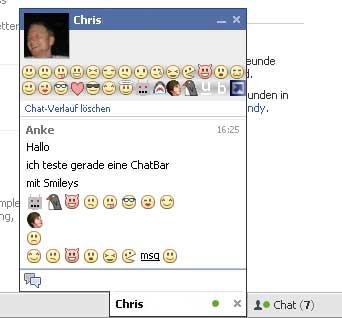 Facebook Chatbar