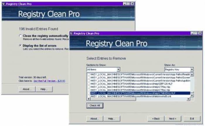 Registry Clean Pro