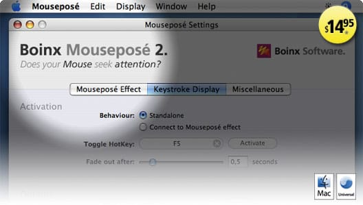 Mousepose