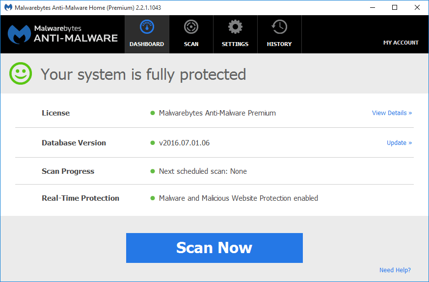 malwarebytes antimalware license