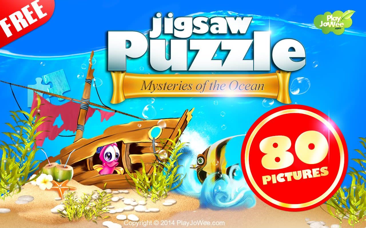 Jigsaw Puzzle Ocean Mysteries