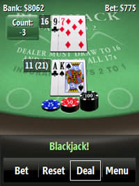 Panoramic BlackJack