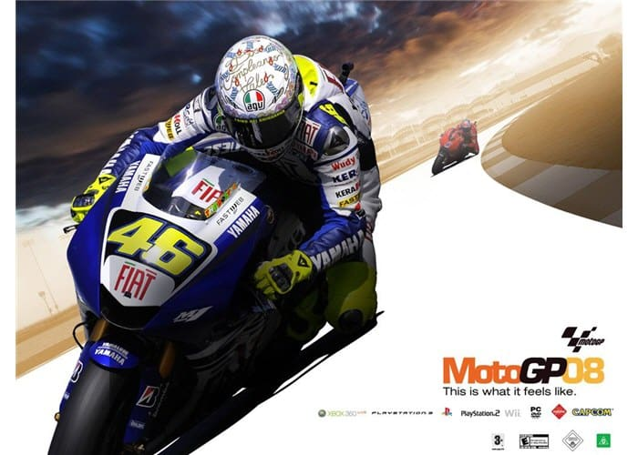 MotoGP08 Wallpaper