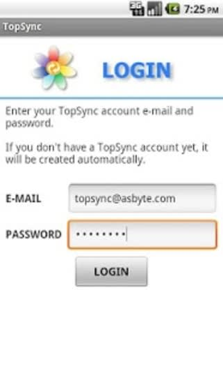 TopSync Android Client