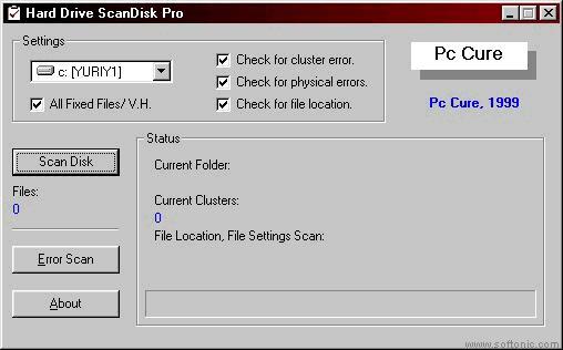 Hard Drive ScanDisk Pro