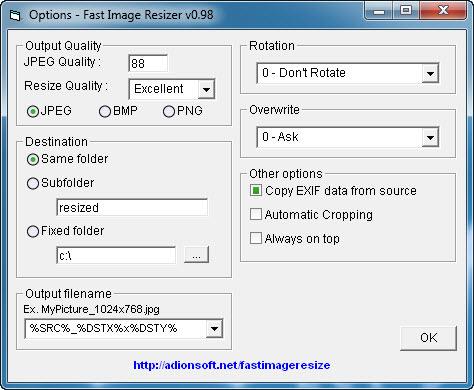 Fast Image Resizer