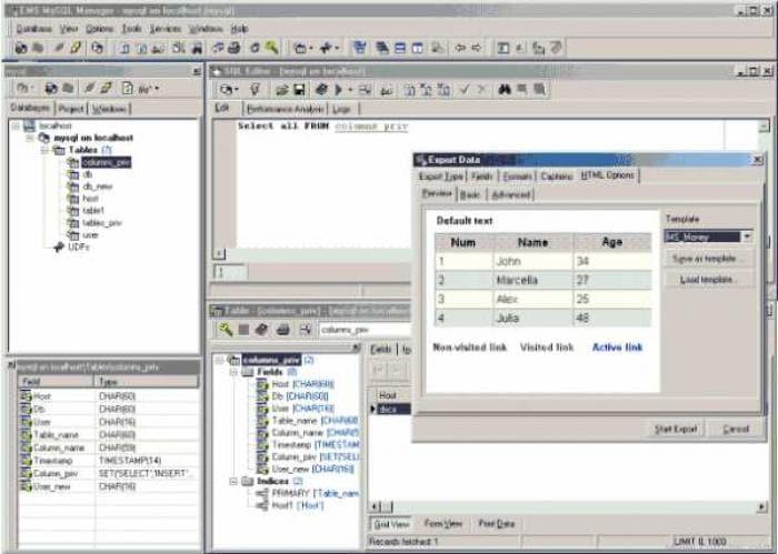 EMS MySQL Manager