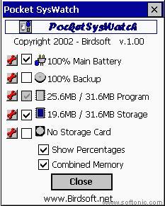 Pocket SysWatch