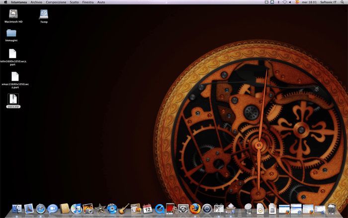Wallpaper Clock
