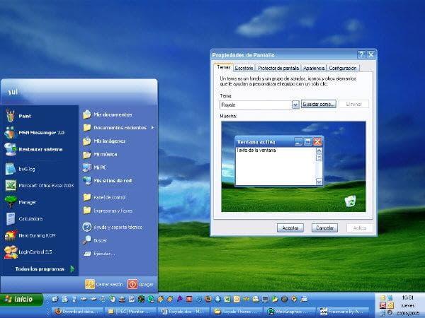 Royale Theme dla Win XP