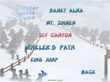 Winter Sports Extreme Game