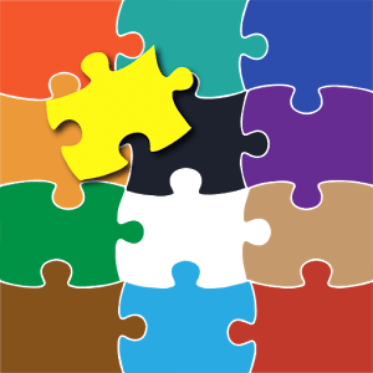 Color de Inundaciones Puzzle