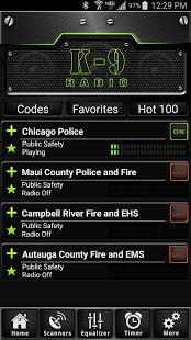 K9 Radio PRO  Police Scanner