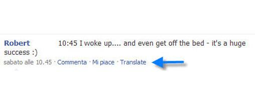 Facebook Translate