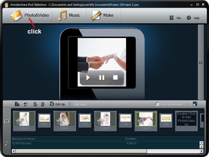 Wondershare iPod Slideshow
