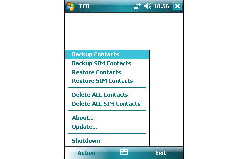 Turbo Contact Backup