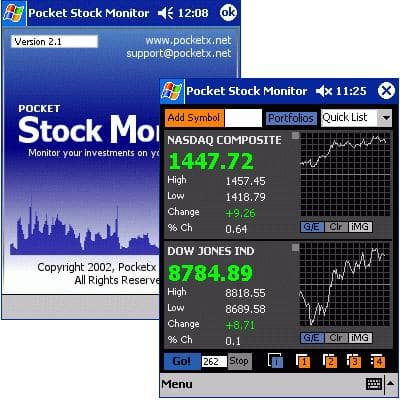 Pocket Stock Monitor PPC/2002