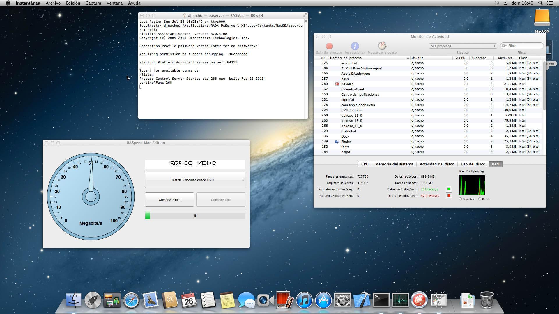 BASpeed Mac OS X Edition