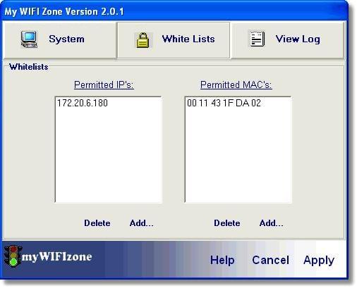 myWIFIzone Internet Access Blocker