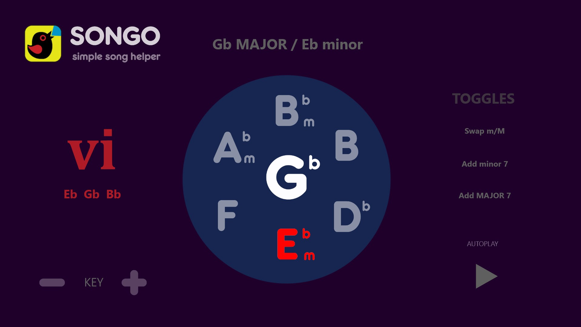 Songo Chord Finder