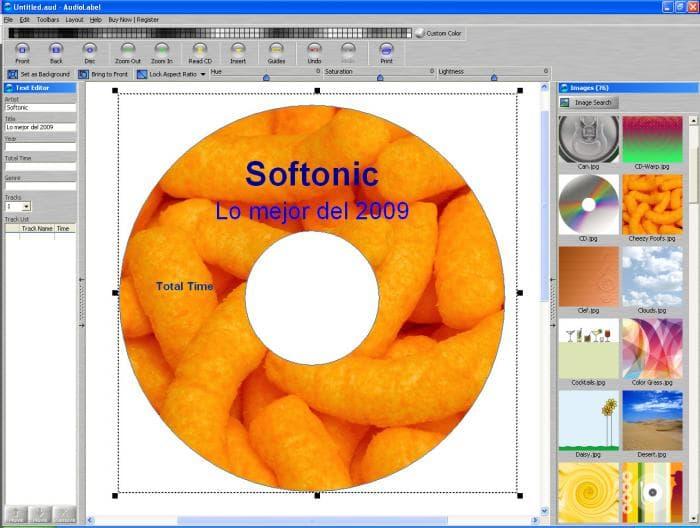 AudioLabel CD DVD Labeler - Descargar