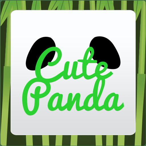 Cute Panda Keyboard