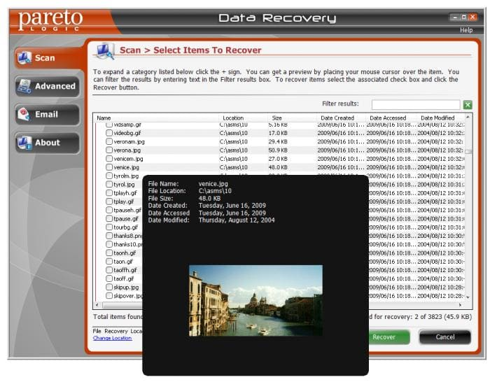ParetoLogic Data Recovery