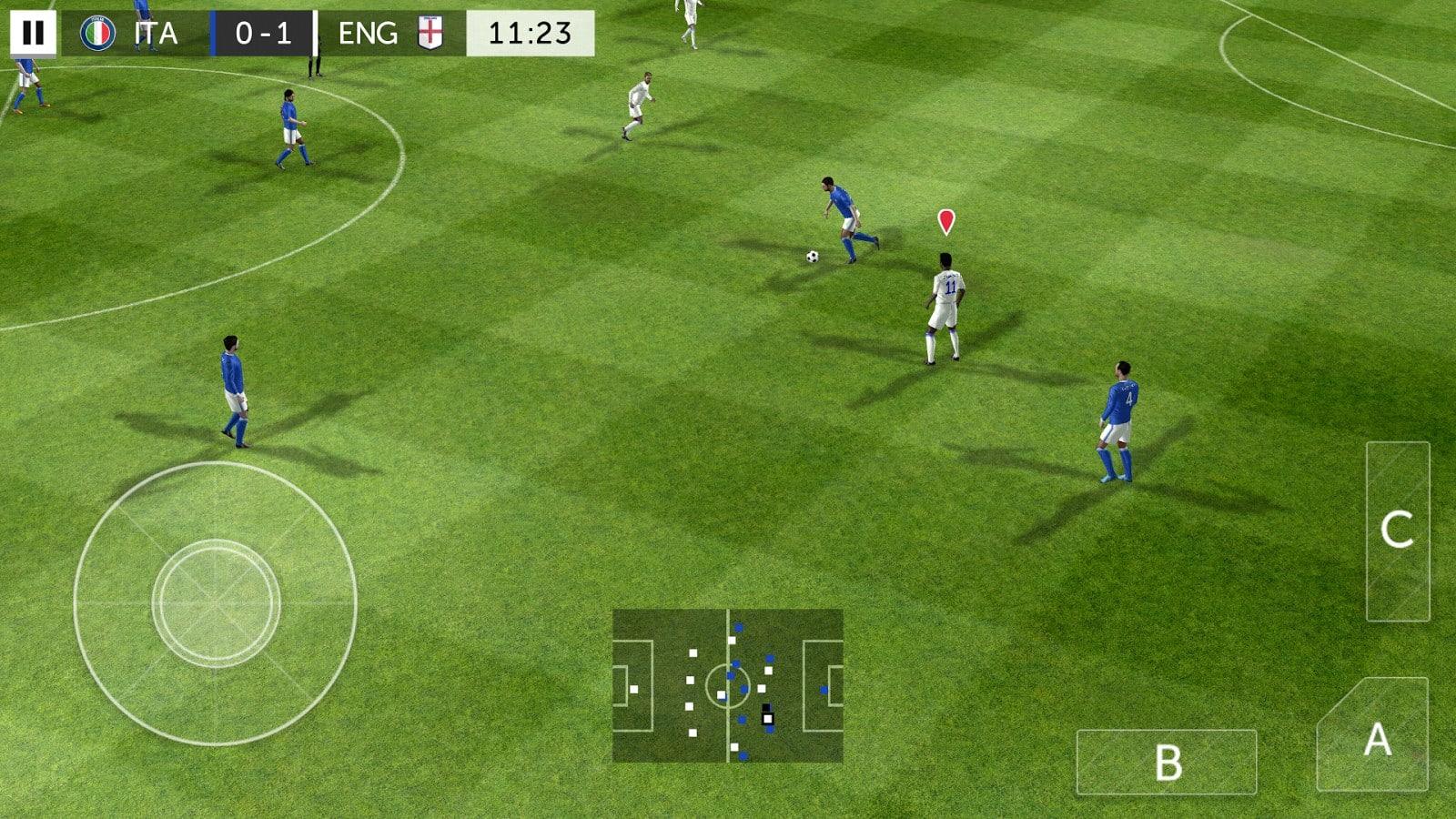 крючком настолько симулятор футбола на андроид день