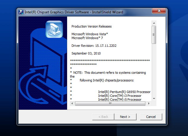Identify Your Intel Wireless Adapter And Driver Version Number