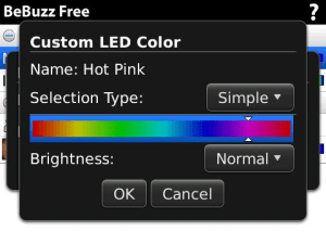 BeBuzz Free - LED Light Colors