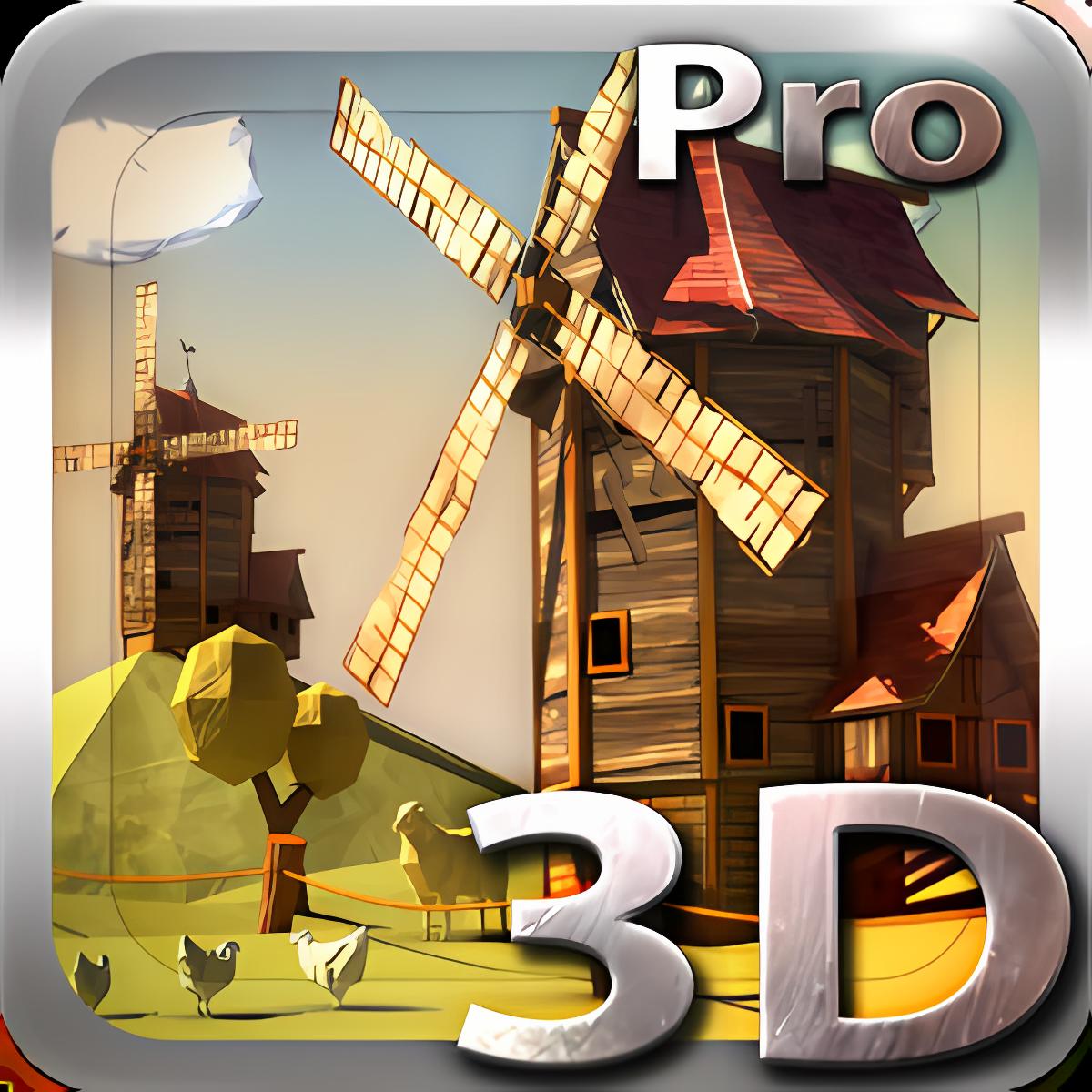 Paper Windmills 3D Pro lwp 1.0