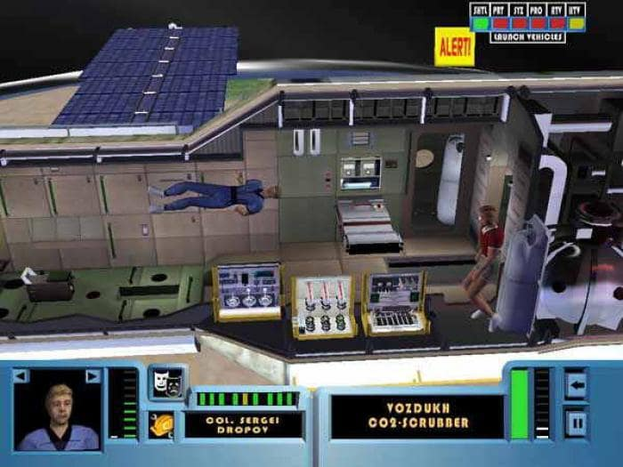 Space Station Sim
