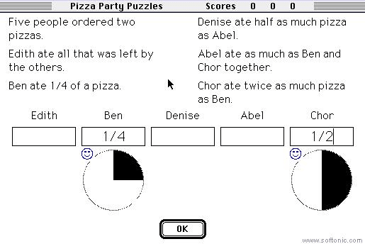 Pizza Party Puzzles