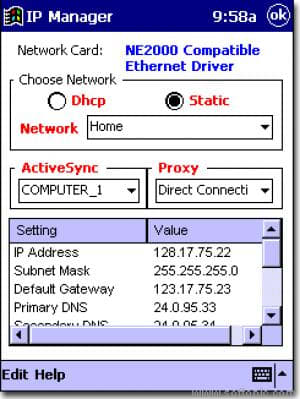IP Manager - 2002
