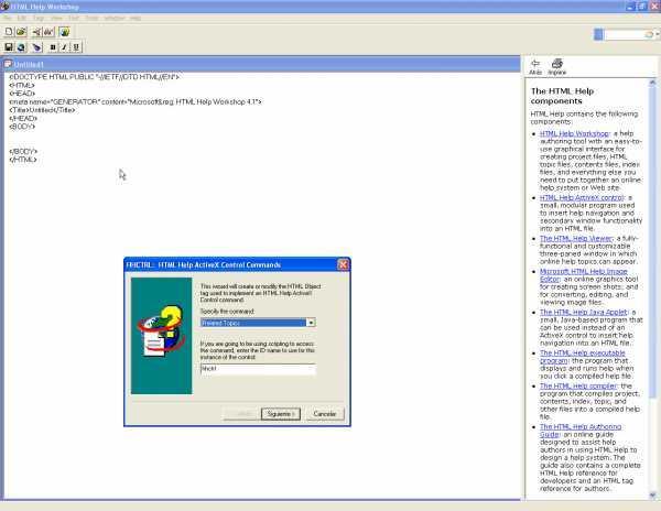 Microsoft HTML Help SDK