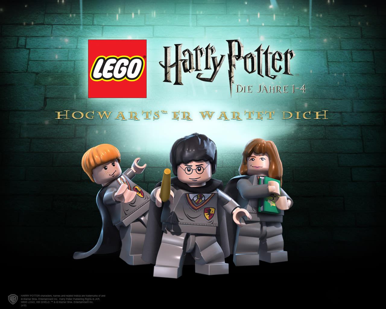 Lego Harry Potter - Die Jahre 1-4 Wallpaper