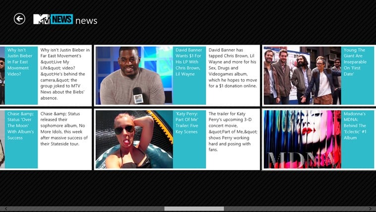 MTV News para Windows 10
