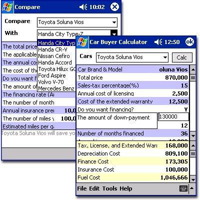 Car Buyer Calculator