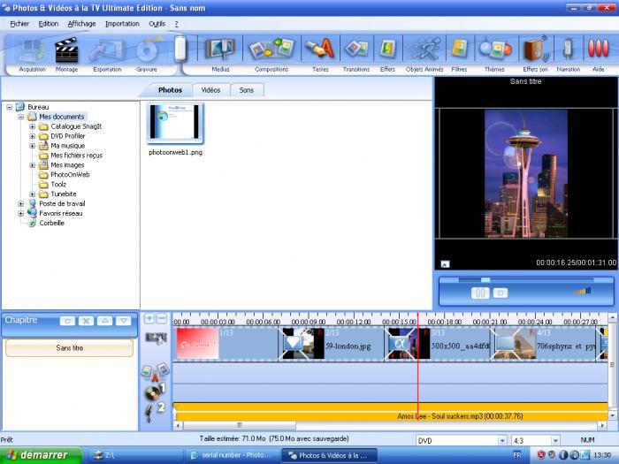 Photos & Videos on TV