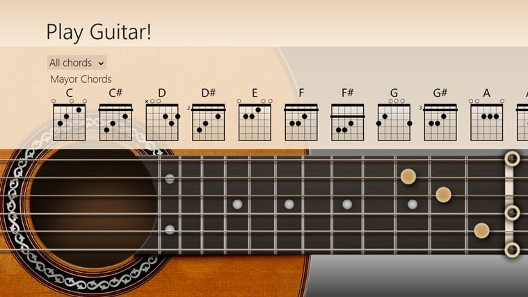 Play Guitar! für Windows 10