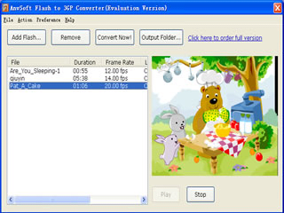 Flash to 3GP Converter