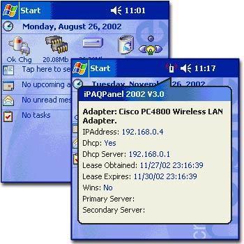 iPAQPanel System Monitor