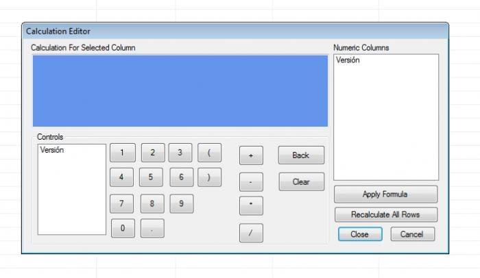 Visual Database Creator