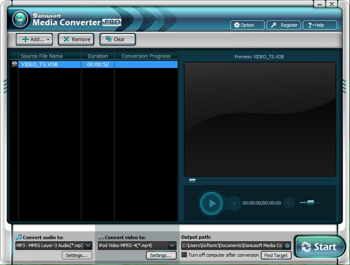 Daniusoft Media Converter Pro