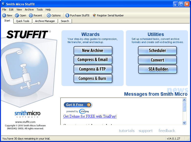 Free download stuffit deluxe.