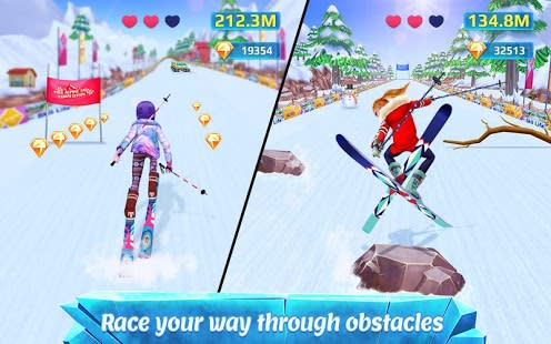 Ski Girl Superstar  Winter Sports  Fashion Game