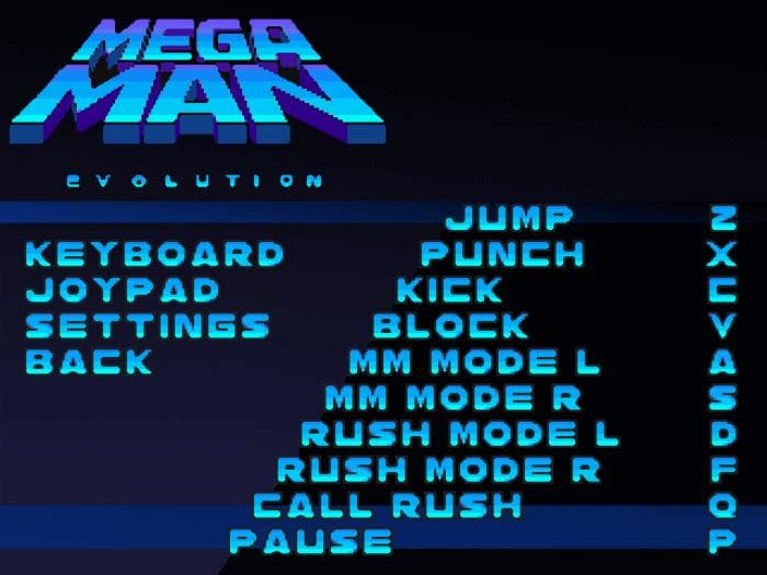 Mega Man Evolution