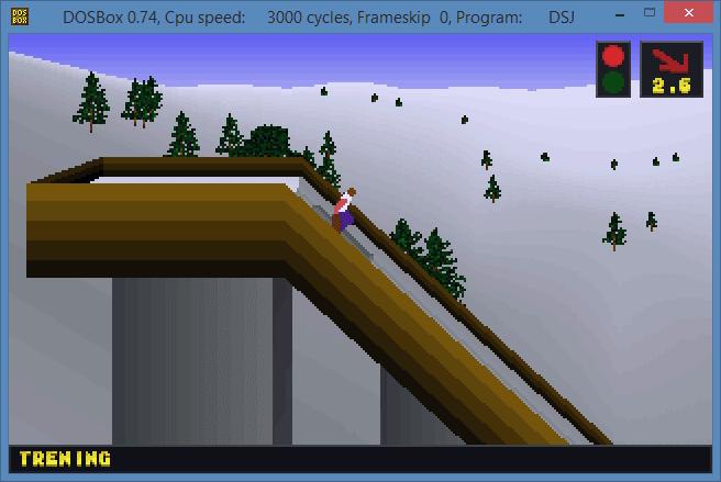 Deluxe Ski Jump 2 DSJ 2 2.1