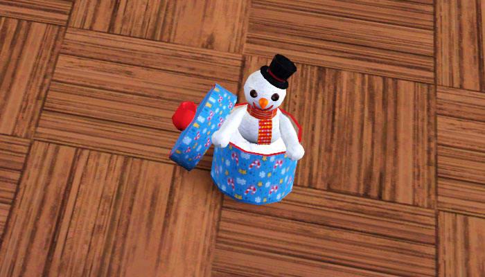 Sims 3 Christmas Set