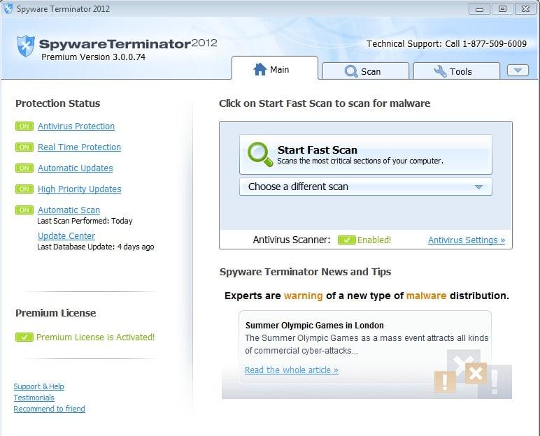 Spyware Terminator 2012